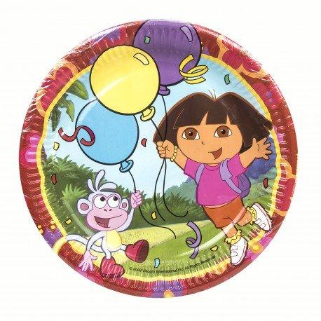 Assiette Dora l'Exploratrice