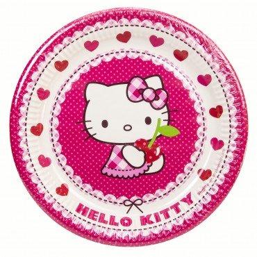 Assiettes Hello Kitty