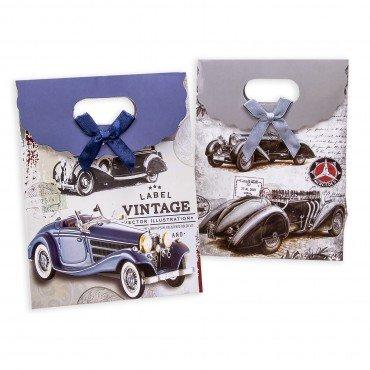Boite Cadeau Invités Vintage