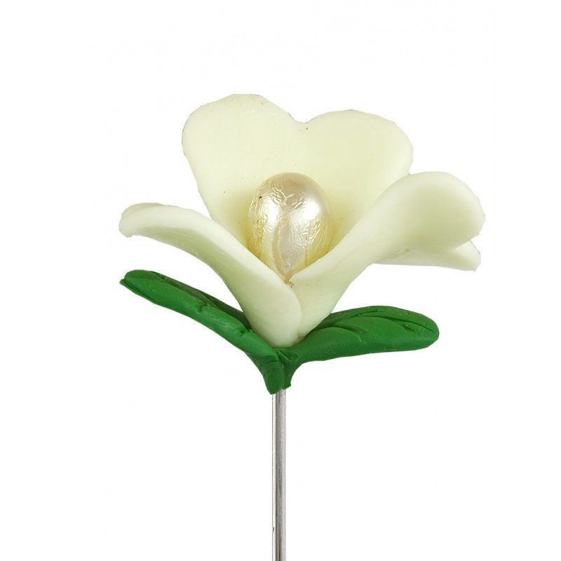 broche mariage fleur en pate fimo. Black Bedroom Furniture Sets. Home Design Ideas