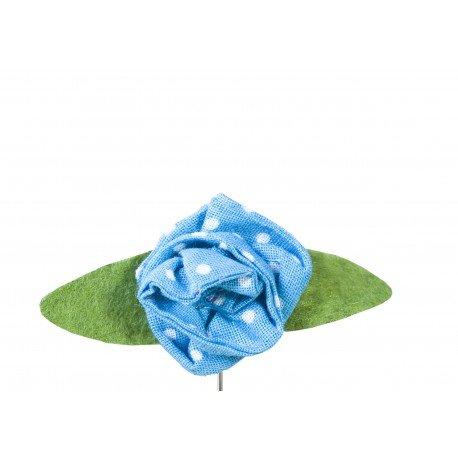 Boutonnière Mariage Invités en Tissu