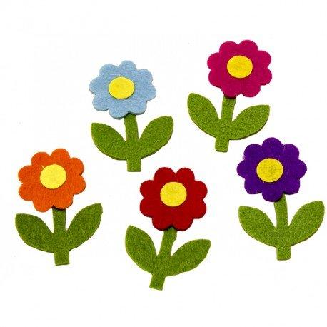 Petites Fleurs en Tissu