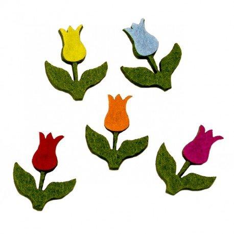 Sachet Fleur Feutrine