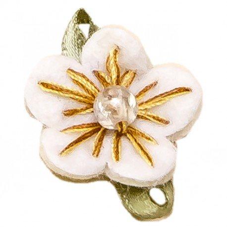 Decoration Cadeaux Fleurs Beige