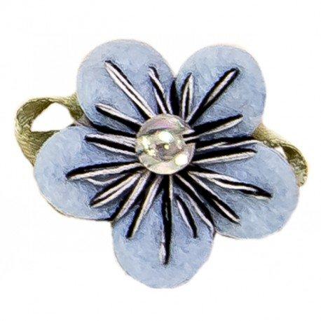 Decoration Cadeaux Fleur Bleue