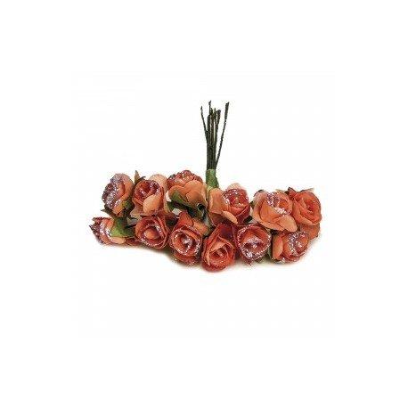 Fleurs Décorartion Marron
