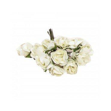 Fleurs en Papier Beige
