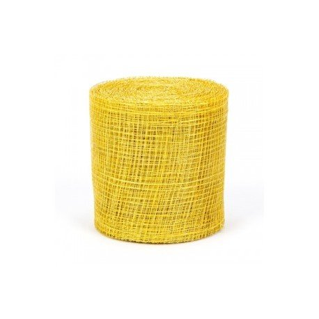 Ruban Decoration Resille Jaune