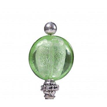 Boutonnière pour Mariage Perle Verte