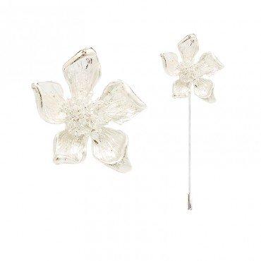 Broche Boutonniere Fleur