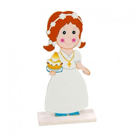 Figurine Fille pour Gateau