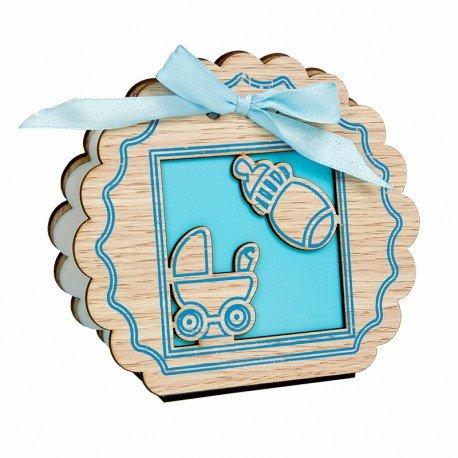 Boîte à Cadeaux Baptême Garçon
