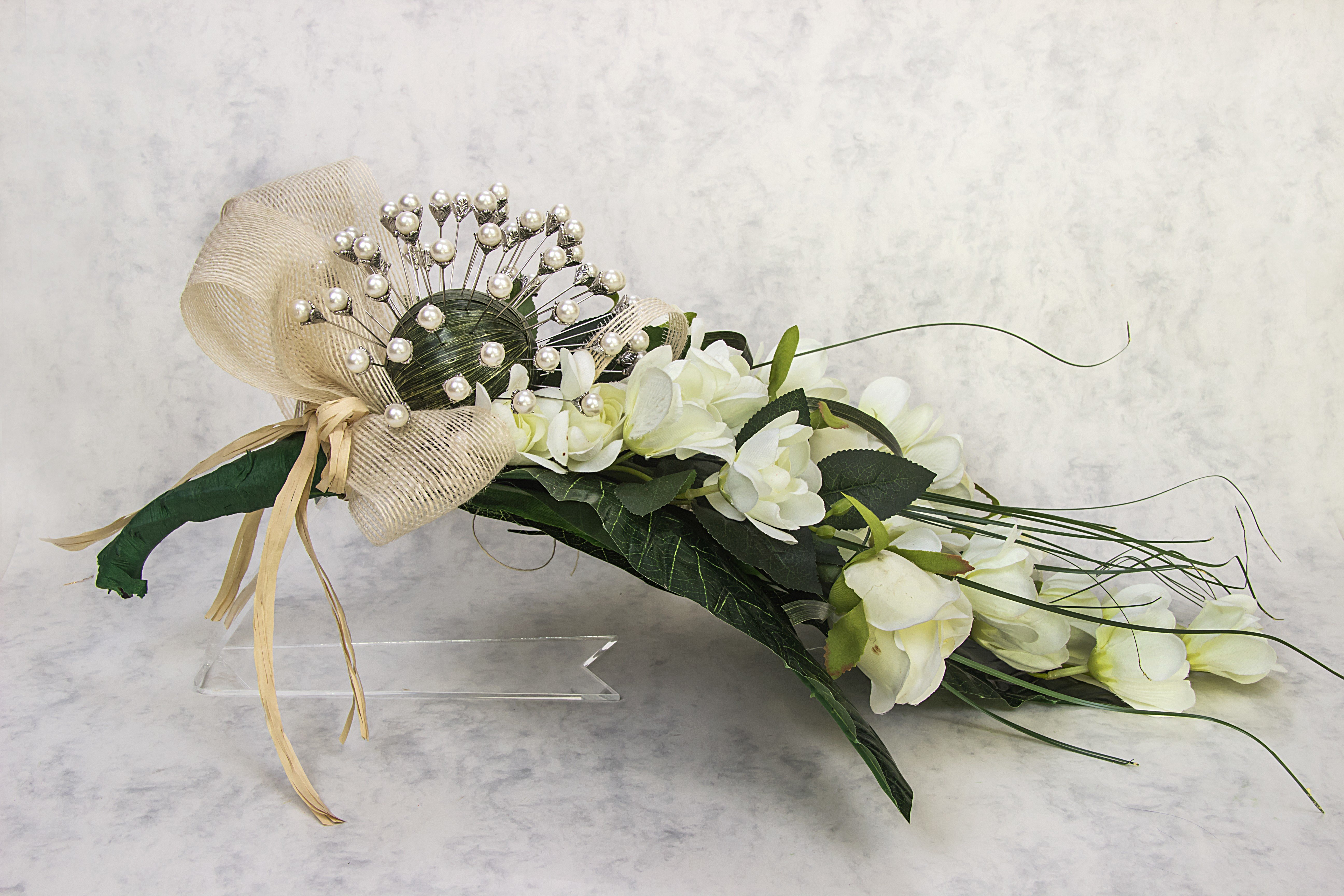 bouquet arum mariage. Black Bedroom Furniture Sets. Home Design Ideas