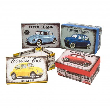 Boite Carton Vintage
