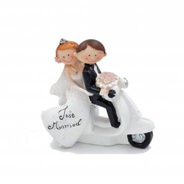 Figurine Pièce Montée Mariage Moto