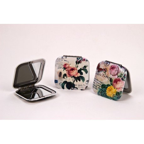 Miroir de poche fantaisie for Miroir fantaisie design
