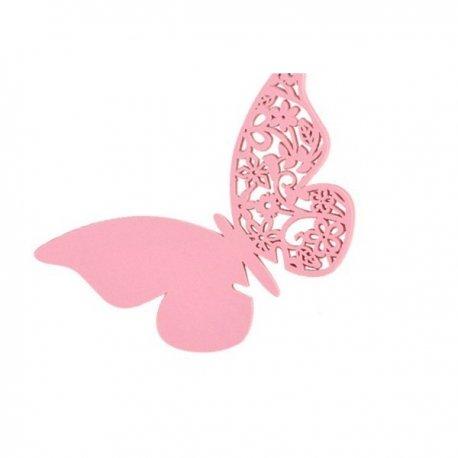 Decoration Verres Mariage Papillon