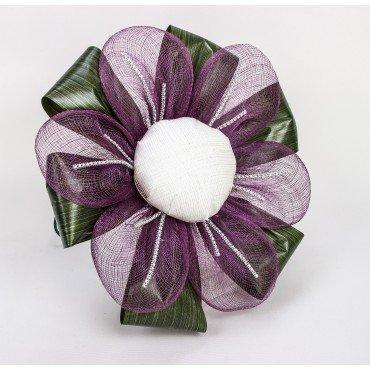 Bouquet de Mariée Mauve Boutonnière