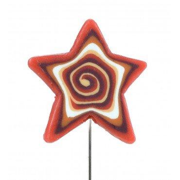 Broche Épingle Fantaisie Étoile