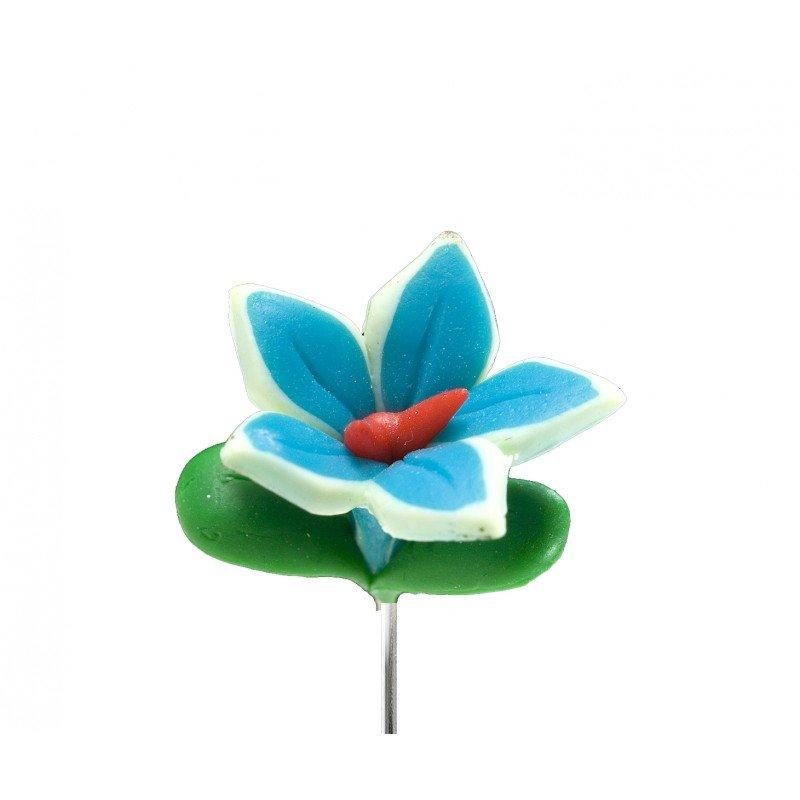 Broche fleur fimo pas cher for Fleurs envoi pas cher