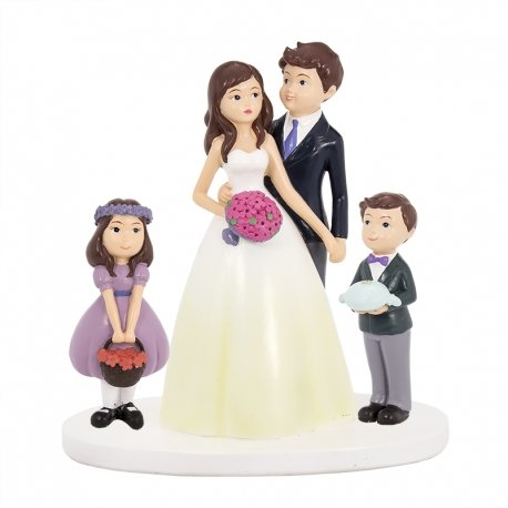 Figurine Mariage Famille