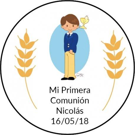 Étiquettes Communion Souvenirs (20)