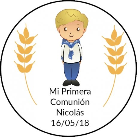 Autocollant Premiere Communion (20)