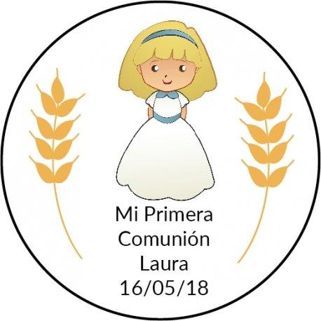 Etiquettes Communion Fille (20)