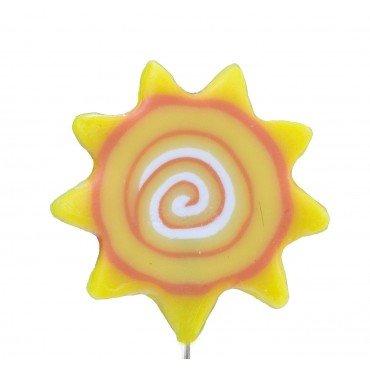Broche Épingle Fantaisie Soleil