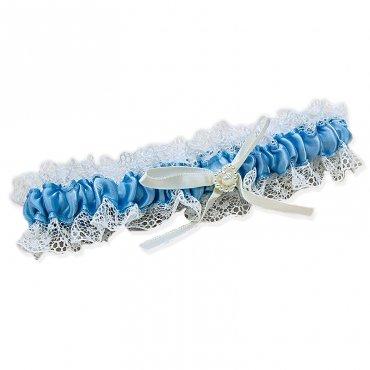 Jarretière Bleue Cadeau Mariage