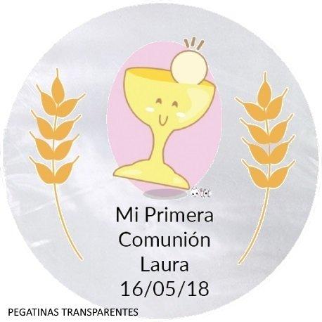 Étiquettes Transparentes Communion (20)
