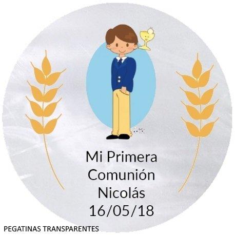 Étiquettes Communion Imprimées (20)