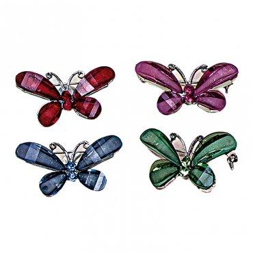 Broche Bijoux Papillon