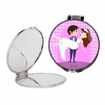 Miroir de Poche pour Mariage