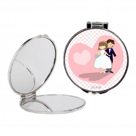 Petit Miroir Mariage