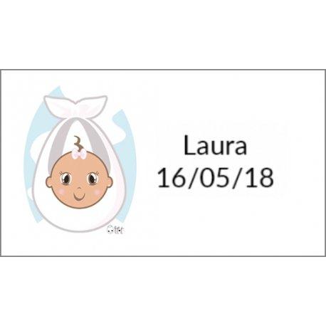 Stickers Bapteme Fille (36)