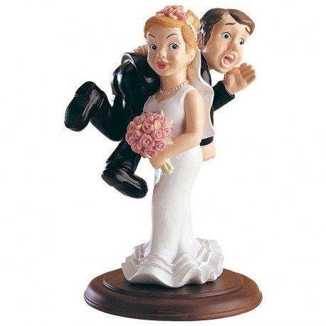 Figurine Pièce Montée Mariage Humoristique