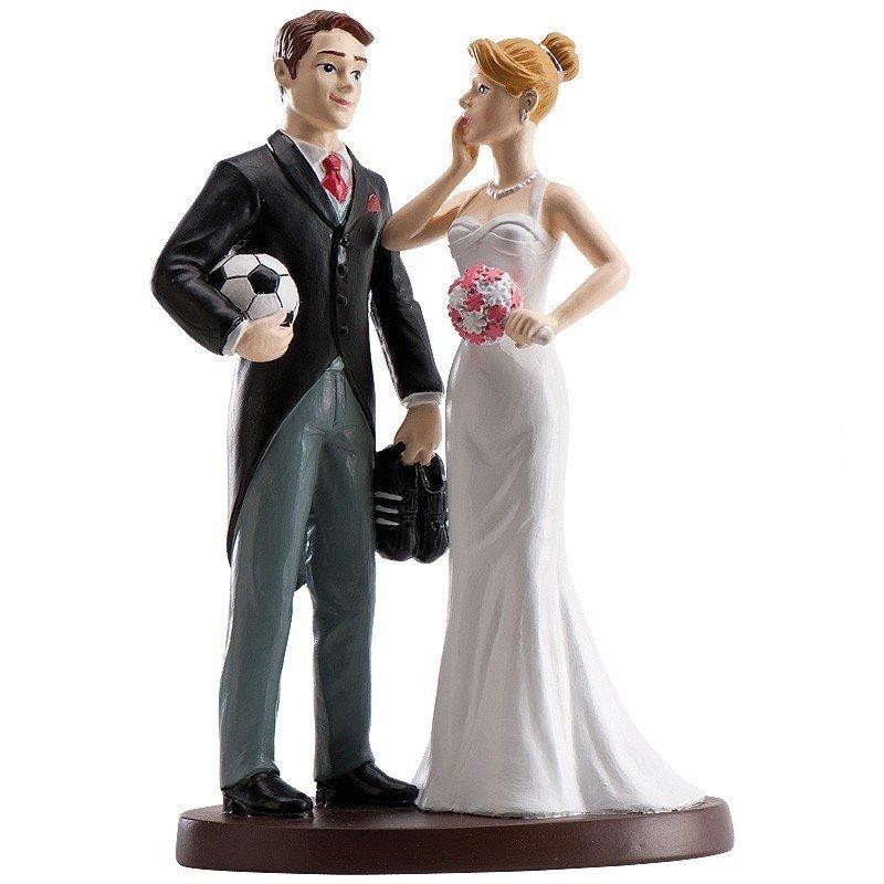 figurine gateau mariage football. Black Bedroom Furniture Sets. Home Design Ideas