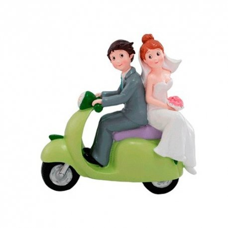 Figurine<strong> Mariage </strong>Vespa