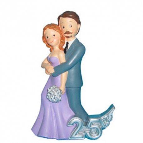 Figurine Mariage 25 ans